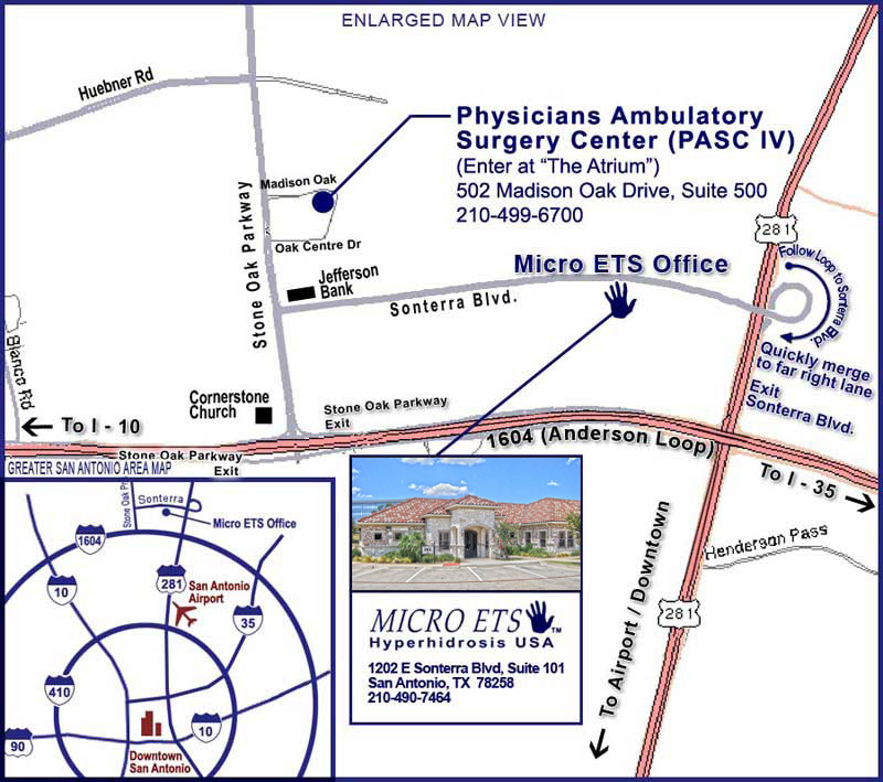 Map to ETS Office